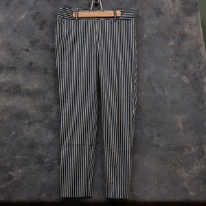 Ann Taylor The Modern Fit Ankle Pant Striped